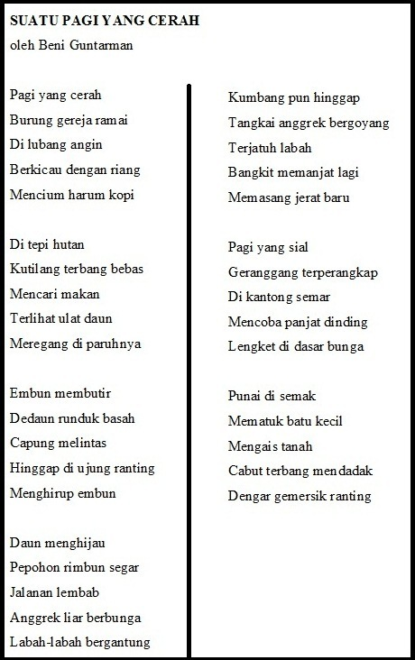 W1siZiIsIjIwMTUvMDQvMTQvMDgvMTIvMzQvMTQ3L1N1YXR1XzIwUGFnaS5qcGciXSxbInAiLCJ0aHVtYiIsIjYwMHhcdTAwM2UiLHt9XSxbInAiLCJjb252ZXJ0IiwiLWNvbG9yc3BhY2Ugc1JHQiAtc3RyaXAiLHsiZm9ybWF0IjoianBnIn1dXQ Menentukan Topik Puisi